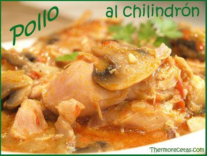 Pollo al chilindrón cocinado con Thermomix  #recetas #pollo  #thermomix