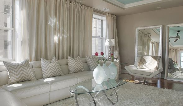 Elegant glam a beautiful warm luxurious living room for Living room 0325 hollywood