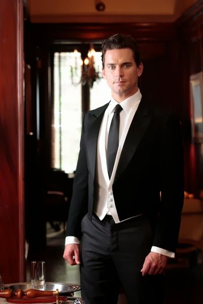 White Collar's Neal Caffrey as a butler... He could come and work for me! I'd like that! ;-)