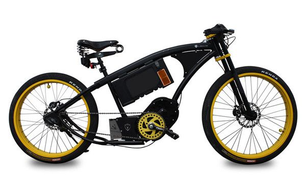Black Block 2 electric bicycle