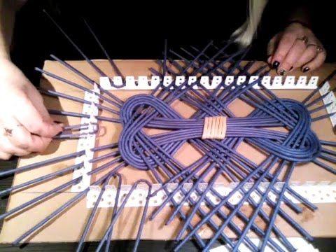 Приспособления в плетении из газет