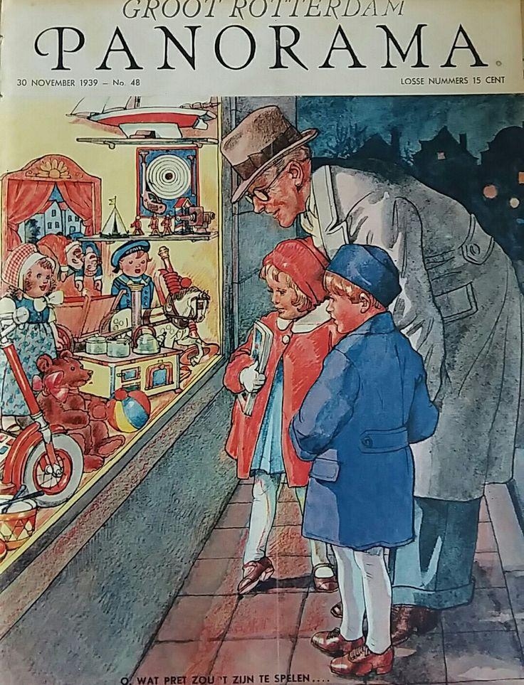 Sinterklaas cover, Panorama 1939