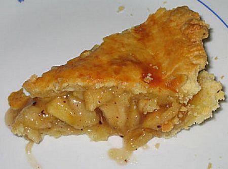 Apple Pie/ Torta de ma�� - Veja mais em: http://www.cybercook.com.br/receita-de-apple-pie-torta-de-maca.html?codigo=40164