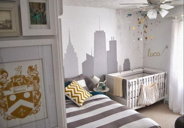 Фотография: Детская в стиле , Интерьер комнат, комната для новорожденного, развивающий интерьер, интерьер для новорожденного – фото на InMyRoom.ru