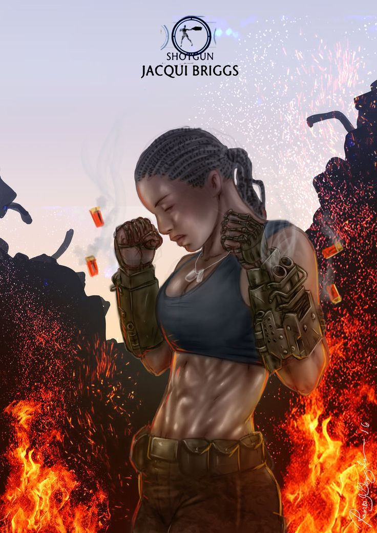 Mortal Kombat X-Jacqui -Shotgun Variation by Grapiqkad.deviantart.com on @DeviantArt