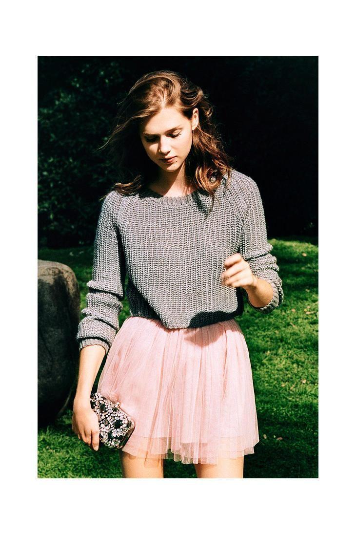 Pins And Needles Tulle Ballerina Skirt #urbanoutfitters loving the tulle skirt look