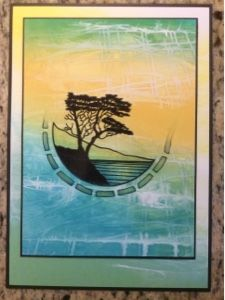 Barbara Gray's Blog. One Day at a Time.: The Lone Cypress. A Beautiful Stamp.