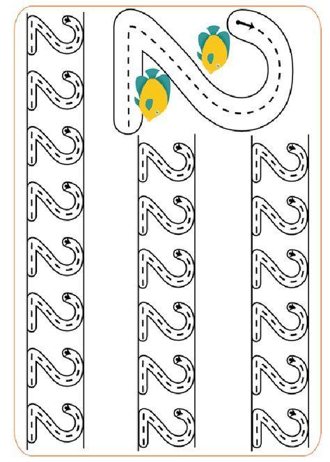 Activités imprimables L'écriture des numéros. http://www.activitesprescolaire.pequescuela.com/activites-prescolaire-imprimer-graphomotricite-numeros11.html