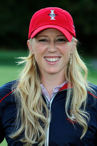Morgan Pressel of the United States Solhiem Cup after the Safeway Classic at Pumpkin Ridge Golf Club on August 21, 2011 in North Plains, Oregon. #SC13 #GoUSA