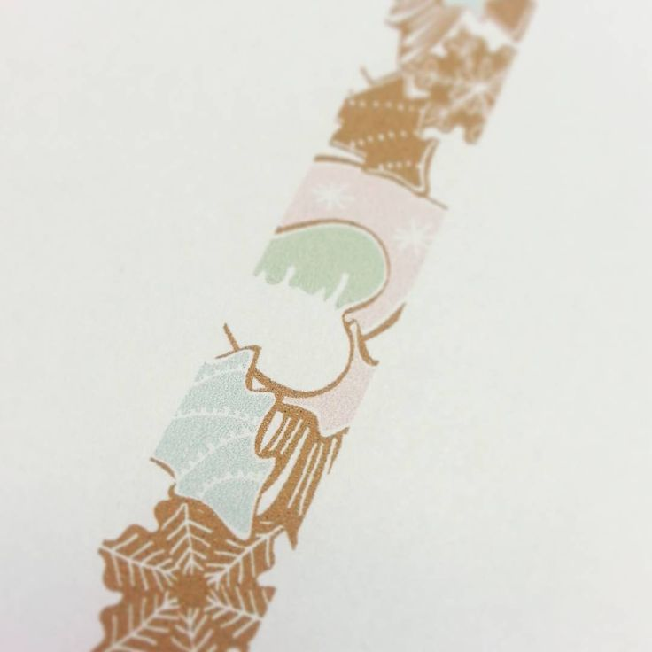 Here is a little sneak peak of our upcoming washi tape holiday collection! #washitape #christmas #nojddesign