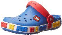 Crocs Crocband Lego Backstrap Clog (Toddler/Little Kid)