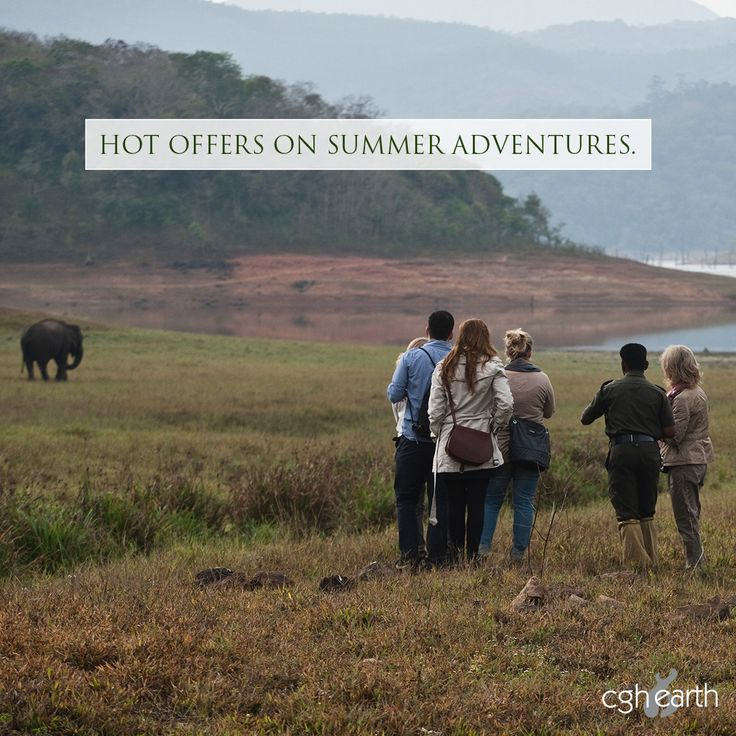 Go on a nature adventure to Thekkady with our attractive summer offers at Spice Village eco resort. Valid till Sept 30th in all CGH Earth resorts/hotels.