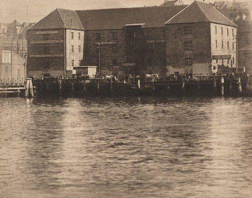Harold Cazneaux  Old Bond Store, Sydney Harbour   circa 1906-circa 1910