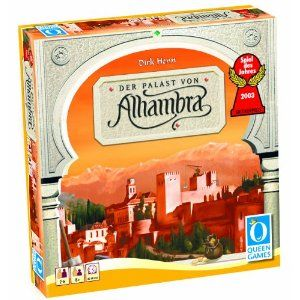 Alhambra Game - I saw Wil Wheaton's Tabletop gameplay. It feels like a blend of Ticket to Ride and Carcassonne even though this game was created years before either one!