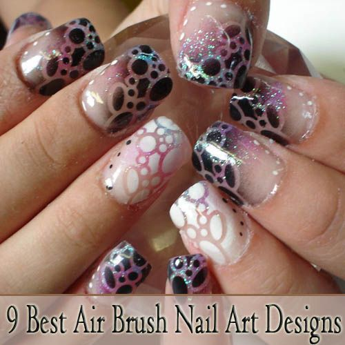 18 best airbrushed nail designs images on pinterest airbrush 9 best airbrush nail art designs with pictures prinsesfo Choice Image
