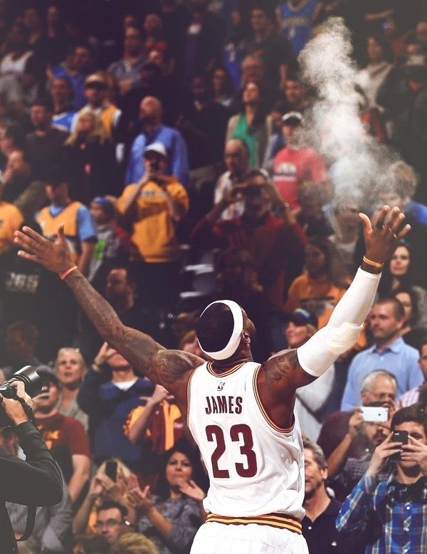 I like this because Lebron James is my favourite player in the NBA