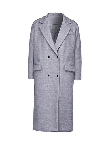 New Trending Outerwear: PERSUN Womens Gray Lapel Patch Detail Longline Wool Blend Manteau Trench Coat,Medium. PERSUN Women's Gray Lapel Patch Detail Longline Wool Blend Manteau Trench Coat,Medium  Special Offer: $41.79  300 Reviews Please Note: The size is Asia size, not US/UK size. S:Bust:42.5inch M:Bust:43.3inch L:Bust:44.1inch XL:Bust:44.9inch SLEEVE TYPE:Long SleeveAsia Small/US 6,...