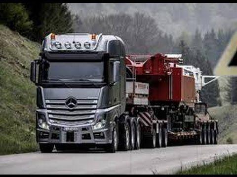 Lihatlah Apa Yang Terjadi Dengan Mobil Truk Besar dan mewah Ini,Kecelaka...