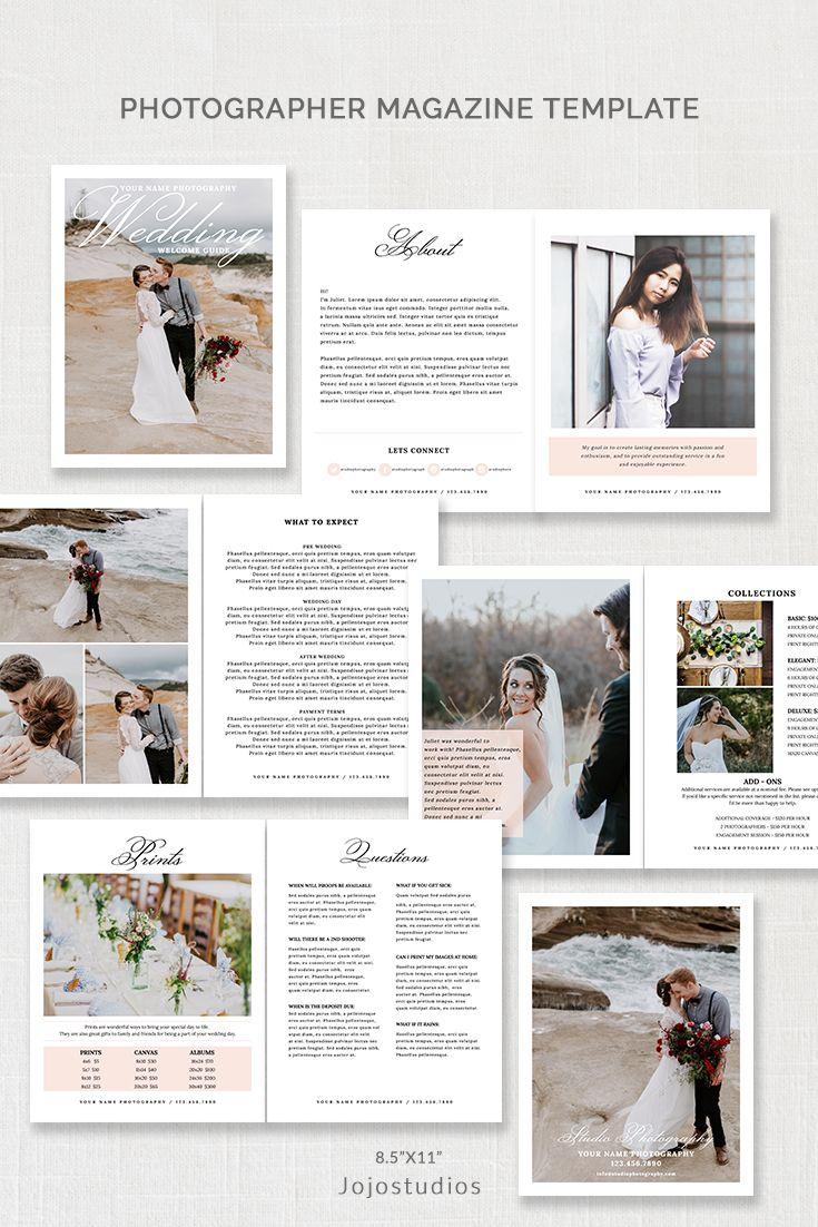 Wedding Photography Magazine Template Mg001 Wedding Photography Magazine Template Wedding Photography Magazine Photography Magazine Template