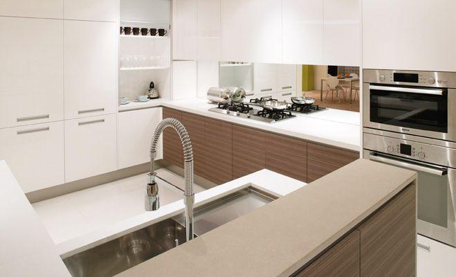 #Modern #Renovation #Kitchen by Kastell #Decor #Tap