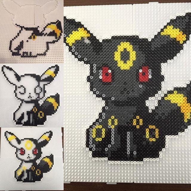 Umbreon - Pokemon hama beads by Alice