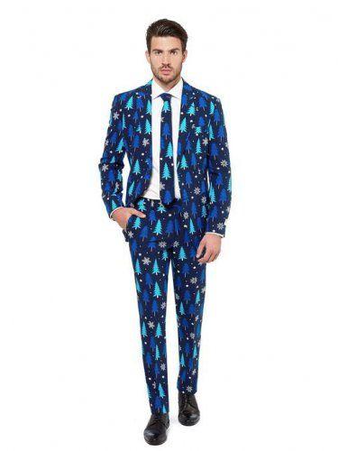 Tannenbäume Winter Anzug für Herren Opposuits™