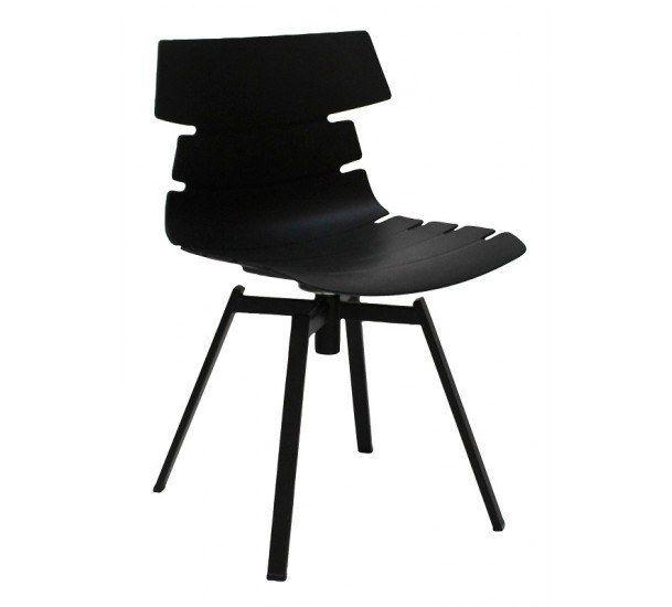 Lækker spisebordsstol i sort - Gratis fragt