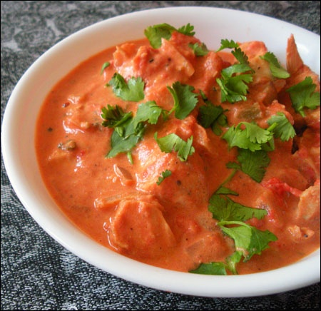 Yesterday I ate Chicken Tikka Masala for the first time. And I enjoyed it. I think I'll take this recipe and make it myself at home. It was really delicious and I enjoyed it a lot!