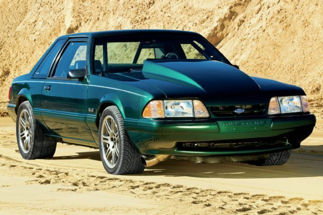 1992 Ford Mustang LX - Mean Green Sleeper: Mike Corrin's basic 9-second Mustang LX