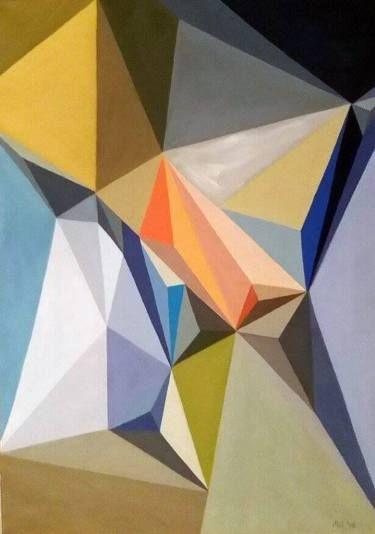 """Saatchi Art Artist Malvina - Carola Liuba; Painting, """"Scarred Letters 5"""" #art"""