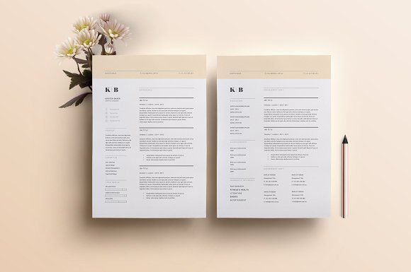 Resume Template 3 Page | CV Template - #Resumes