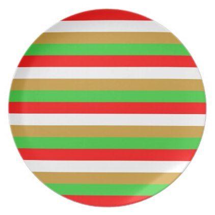 Tajikistan flag stripes plate - patterns pattern special unique design gift idea diy