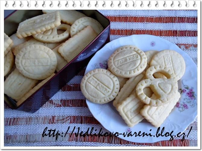 Jedlíkovo vaření: sušenky - domácí vanilkové sušenky  #baking #cukrovi #vanoce #susenky #cookies #recept #oreo