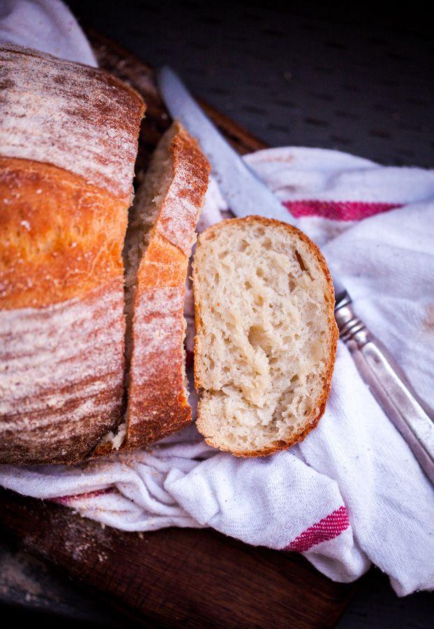 Prosty chleb z ziemniakami (na drożdżach)