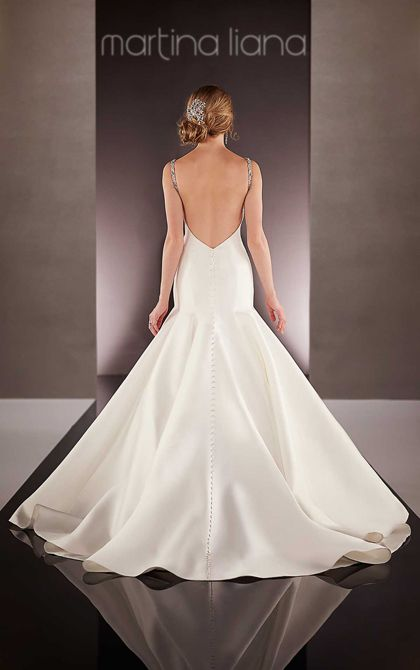 Modern Fit and Flare Wedding Dresses