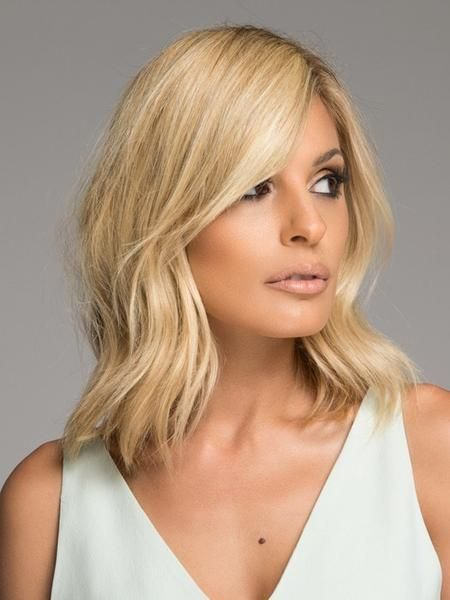 Full Sweeping Side Fringe Clip in Bang by Christie Brinkley completes any hairstyle and frames the face to perfection. Change your whole look in a snap with this clip-in side-swept bang! It's not too wispy, not too heavy and tailored to lay flat and natural, for a look that's incredibly realistic and completely without commitment. Full Sweeping Fringe can be worn on either the left or right side. Hair2wear's special Excelle™ synthetic hair fiber is easier to care for than your own hair, and…