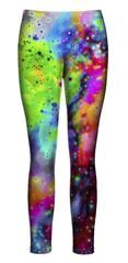 Beloved Shirts presents the Neon Galaxy Leggings