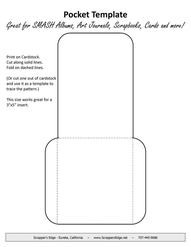 library pocket template download printable library pocket template pdf pocket invitation 5x7. Black Bedroom Furniture Sets. Home Design Ideas