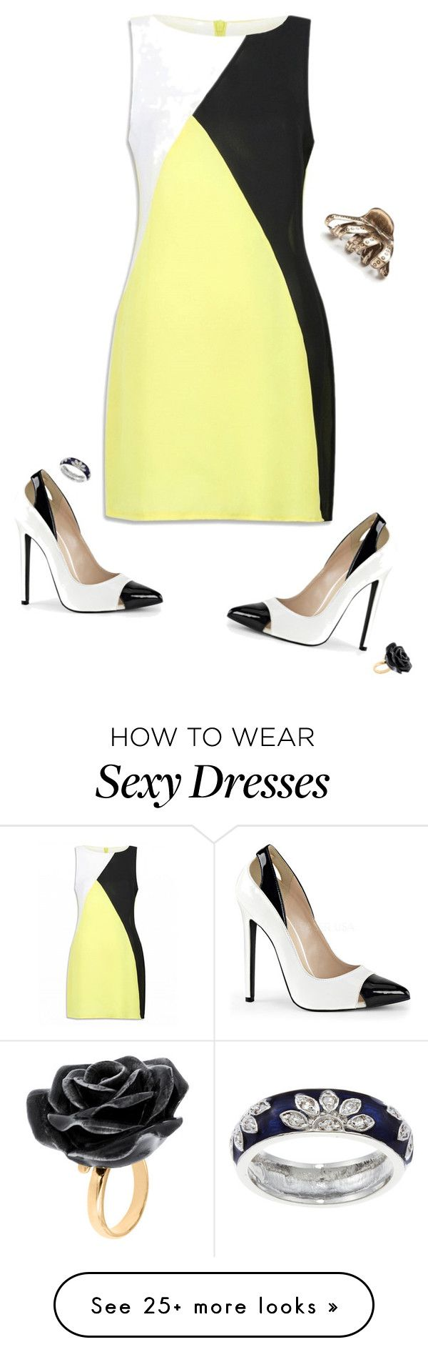"""Hufflepuff {Executive Decisions}"" by sarah-natalie on Polyvore featuring Free People, Nach Bijoux and Kate Bissett"