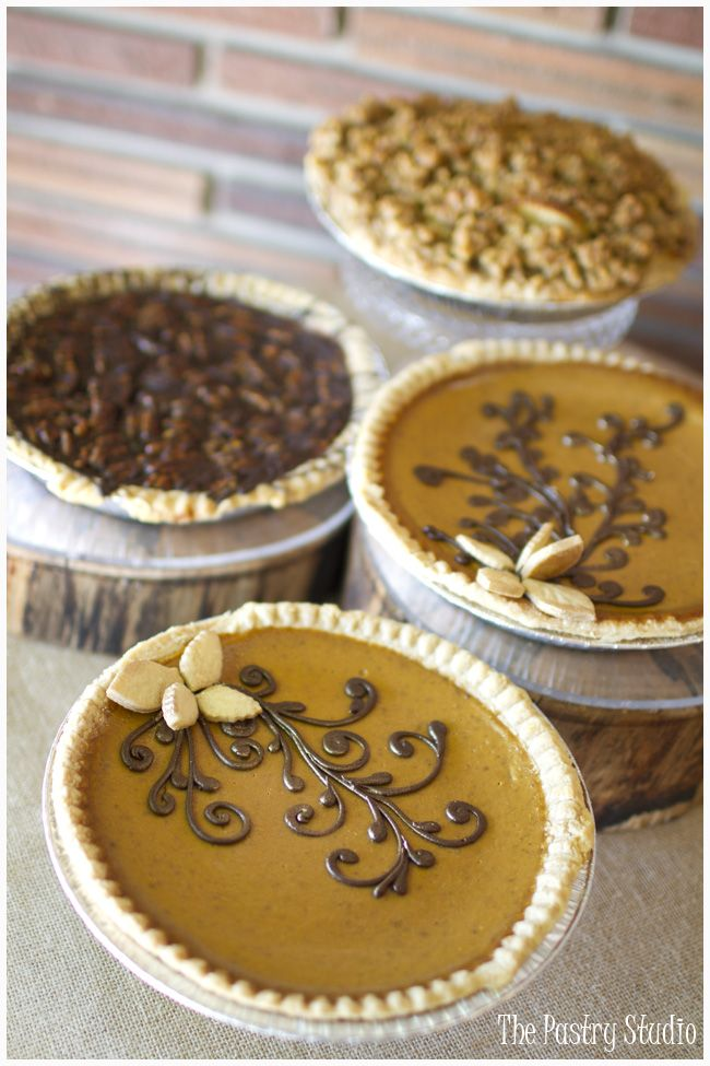 Thanksgiving Sweets - Gourmet Pies by The Pastry Studio:Daytona Beach,Fl  #thanksgiving #pies