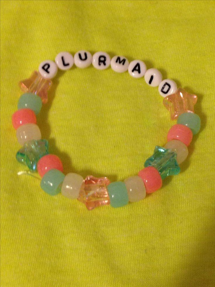 PLURMAID Blue/Pink/White Kandi
