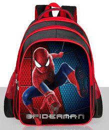 Chuwanglin Waterproof cartoon Spiderman Backpacks Kids Children School Bags Primary Backpack Boy mochila Schoolbags ZDD8285