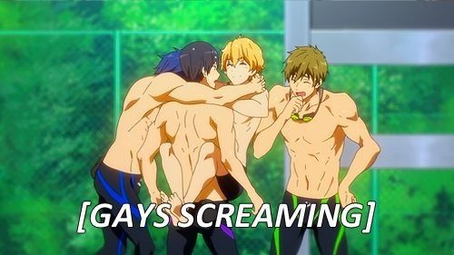 Free! Iwatobi Swim Club---- my japanese exchange student and i watched this while i was in japan!