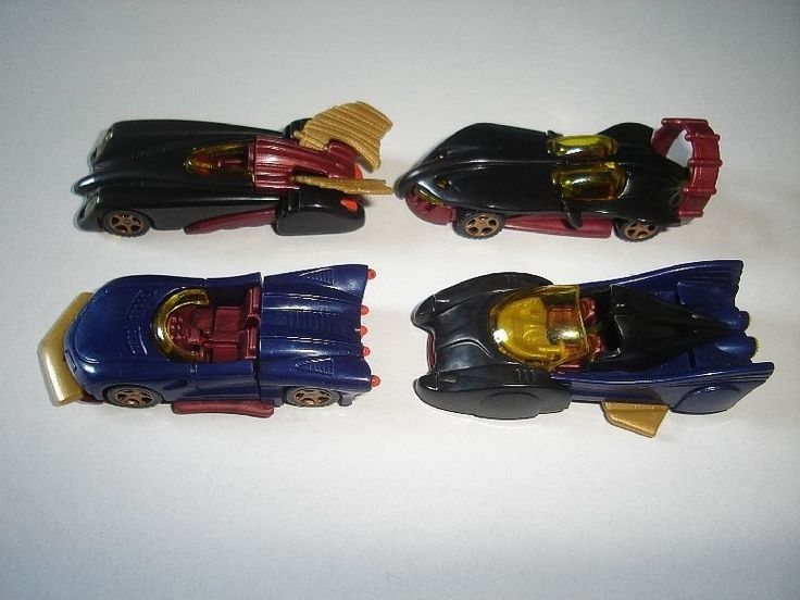 Superheroes Design Model Cars Set 1 87 H0 Kinder Surprise Plastic Miniatures | eBay=266