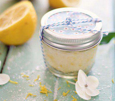 scrub limone olio cocco
