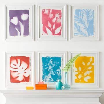 DIY Artwork: Botanical Prints - Better Homes and Gardens - BHG.com