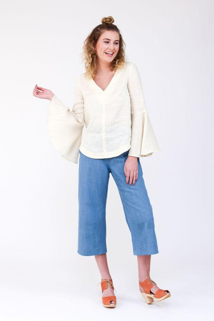 Dove blouse from Megan Nielsen
