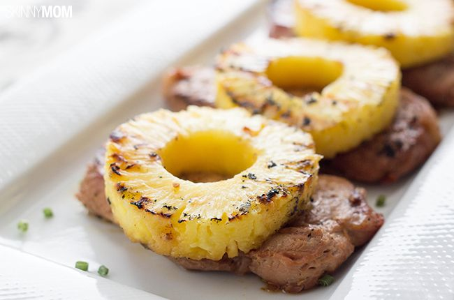Recipe:+Skinny+Pineapple+Teriyaki+Pork+Chops