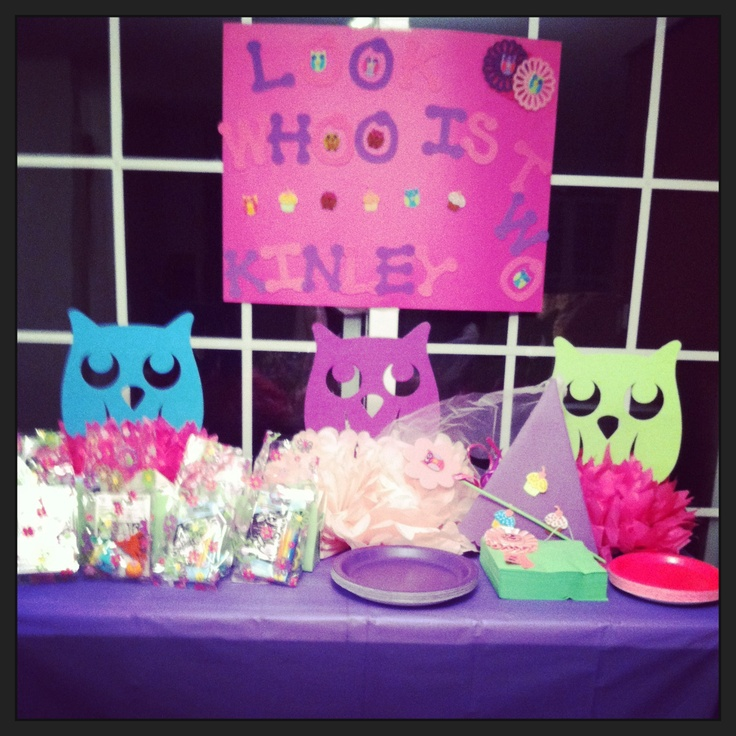 56 Best Owl Birthday Party Ideas Images On Pinterest