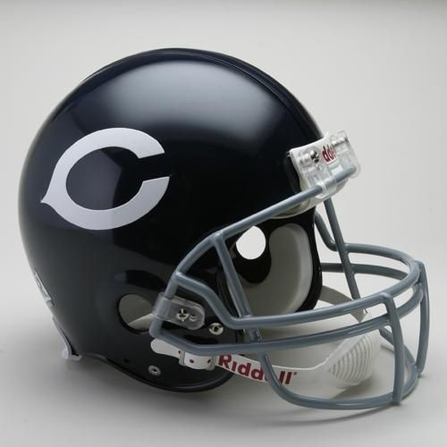 Chicago Bears Helmet Riddell Authentic Full Size VSR4 Style 1962-1973 Throwback Special Order